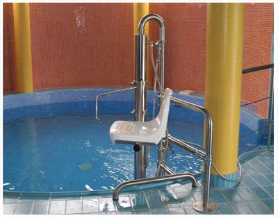 elevador de piscina metalu b2