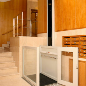 elevador ascensor hdp1 - accesibilidad - ascensor - elevador - automatismos - salvaescaleras