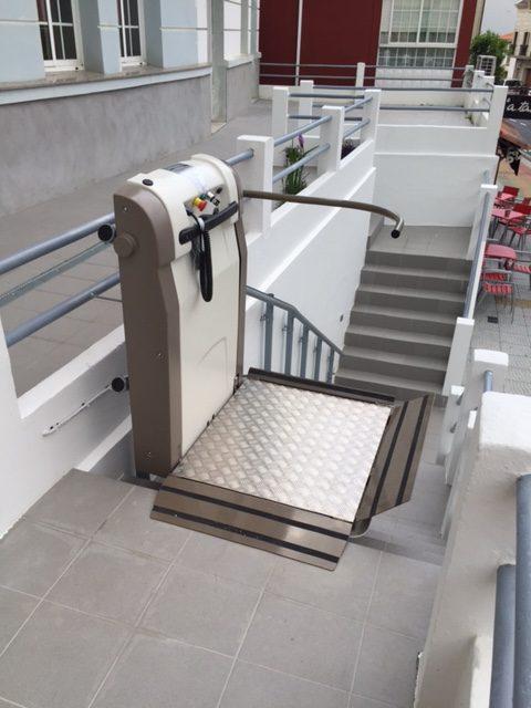 plataforma salvaescaleras en galicia - presupuesto plataformas elevadoras pontevedra